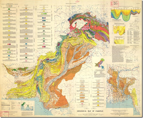 Geological Map of Pakistan