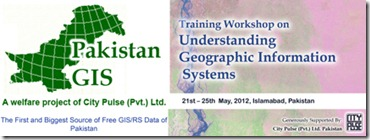 Pakistan GIS Training Banner