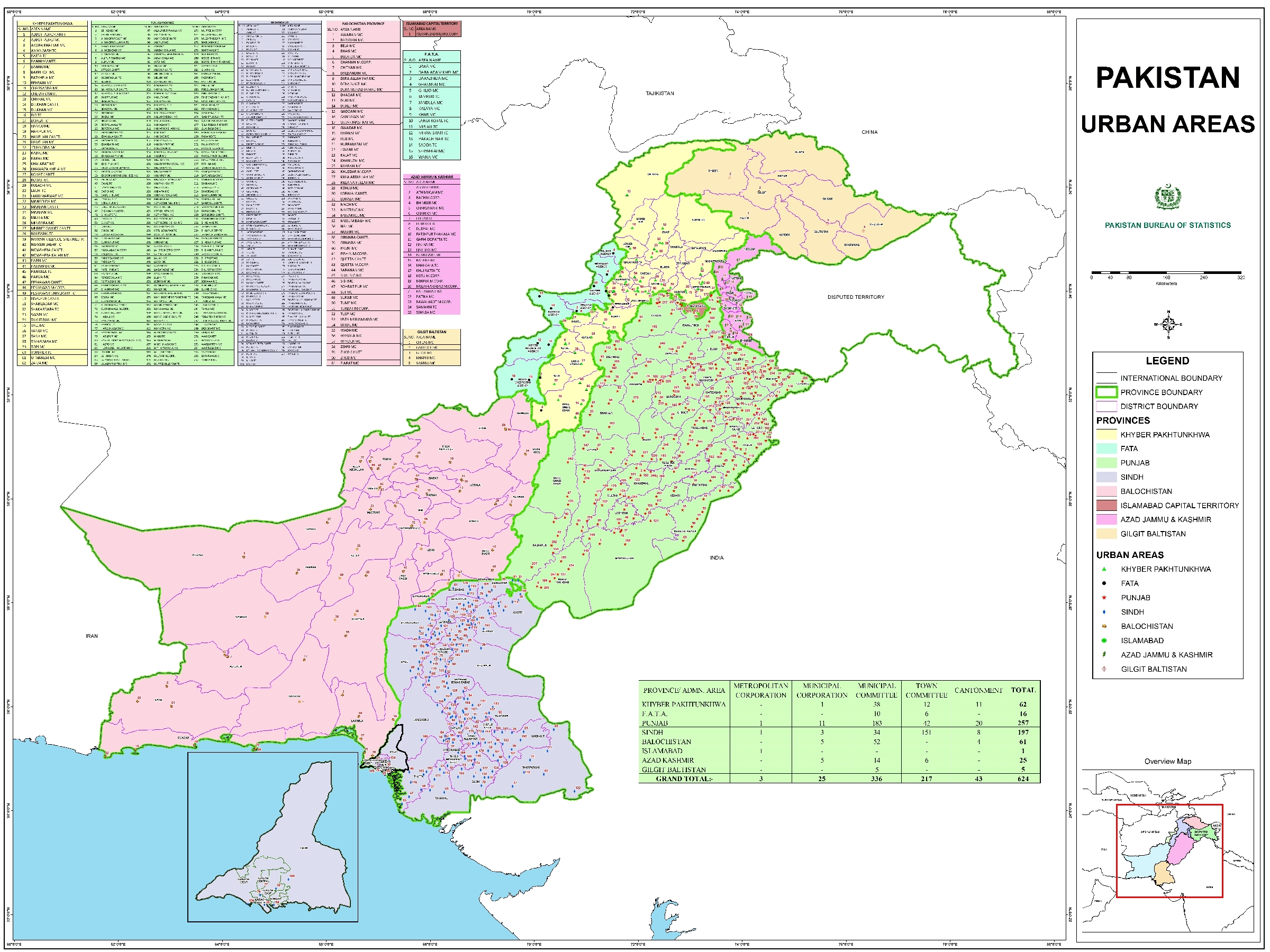 Pakistan GIS | Free source of GIS/ RS data in Pakistan